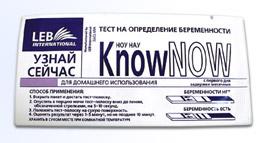 Know Now тест-полоска